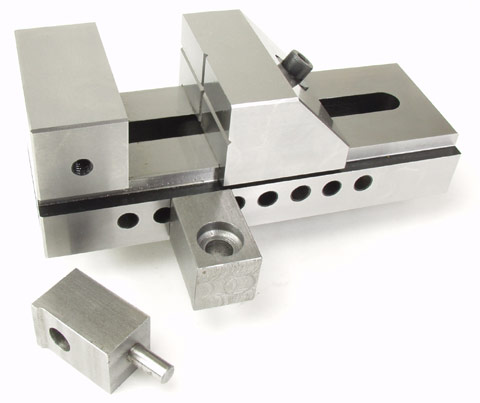 Screwless vise hold down jigs? who sells them