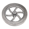 "Flywheel, 4 1/2"" Diameter 6 Curved Spokes"