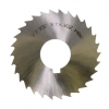 "Slitting Saw Blade, 1/8"" thickness HSS"