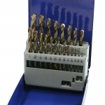 Drill Set, 21 Piece Turbomax Tip