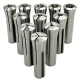 Collet Set, R8, Set of 11