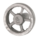 "Flywheel, 2"" Diameter, 5 Straight Spokes"